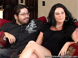 Swinger sex scenes with polygamous couples and other kinky peeps