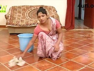 Horned-up housemaids get boned hard