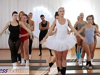 Fitness Rooms Petite ballet teachers secret threesome