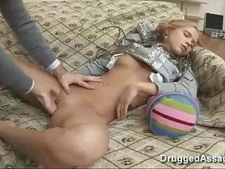Adorable blonde bangs big dick