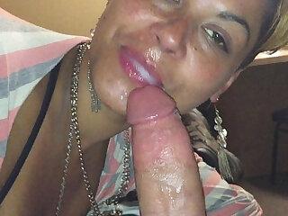 She wants that fresh cum no matter what