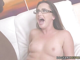 Hope Howell Tries out Anal masturbation With Mandingos BBC