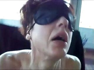 Amateur Mature sex slave video