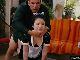 Innocent maid pounded by her boss