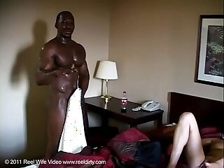 I love black cock in my ass and creampie