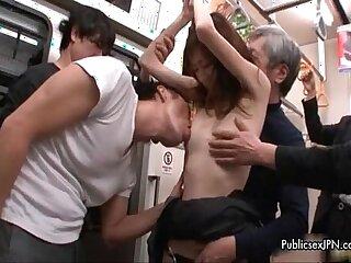 Group of random strangers getting dirty