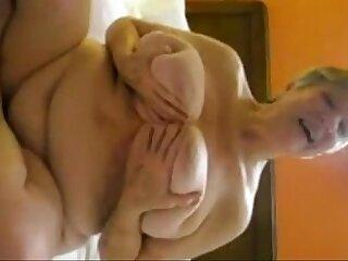 Big tits granny sucking cock
