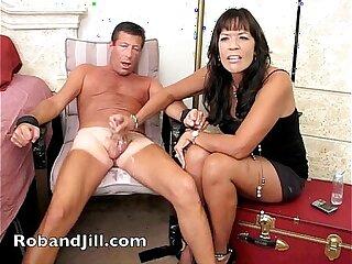 CFNM Handjob with Orgasm