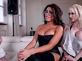 Rhythmic Exercises Two Busty Babes Get Fucked by Music Teacher