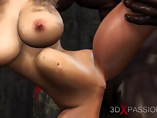 . Young bride dreams of being fucked by a big black mamba cock at a wedding