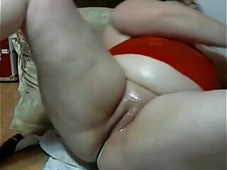 bbw from masturbating creamy pussy