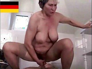 Hairy Granny gets Fucked