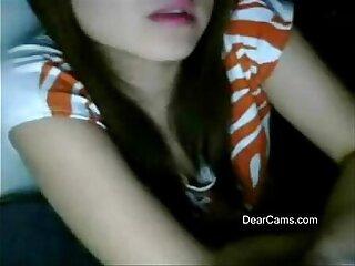 Fair cute webcam stripping