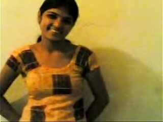 Indian college girl is fucked pussy