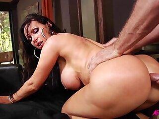 Nikki Benz anal fucking and jizzed