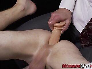 Bishop spanks mormon ass