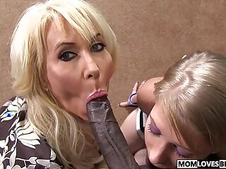 Allie James shares a BBC with her mom Erica Lauren