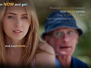 Sexy petite teen gets it hard fucked by olderman