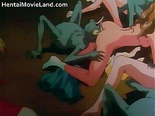 Amazing anime movie with sucking stiff