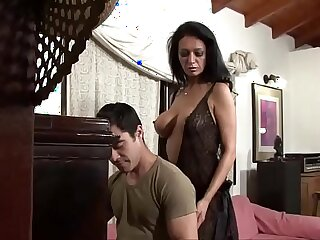 My bitch of a wife seduces younger boy