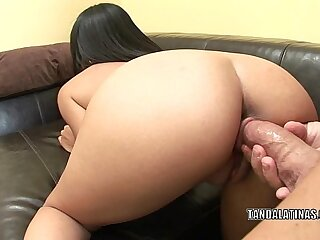 Exotic hottie Cassandra Cruz gets twat fucked real hard