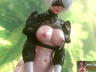 hot scenes big ass 3d girls