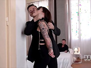 Ultra Vixen Nikita Bellucci Double Penetrated to pure ecstasy