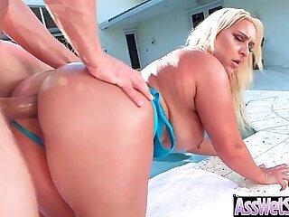 Big Butt Girl Nina Kayy Get Oiled All Over And Hard Anal Nailed clip